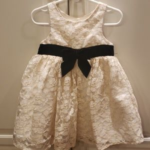 Cherokee Ivory Lace Dress Size 2T